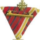 Cross of Jerusalem pilgrims Gold II.type