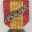 Gallantry Cross with Large Palm