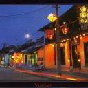 Hoi An. The ancient street's festive night