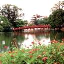 The Huc Bridge - Hanoi