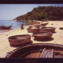 Coracles. Barques-paniers