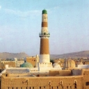 Al-Hadi Mosque in Sa'ada, North-Yemen
