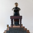 Cast Iron Magician Mechanical Bank