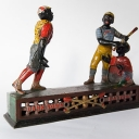 Dark Town Battery Antique Mechanical Bank