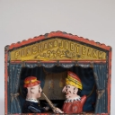 Punch & Judy Antique Cast Iron Mechanical Bank